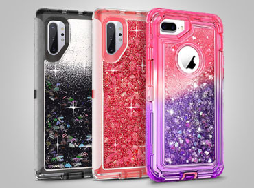 Dual Shade Gradient Clear Case